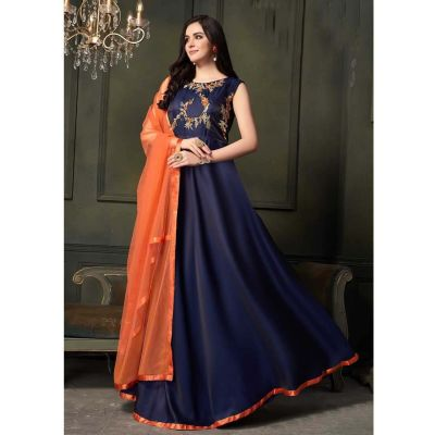 Women Gown Blue color Designer