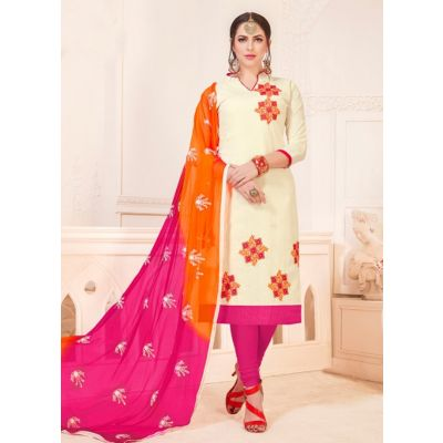 Women Salwar Kameez White Color Party Wear
