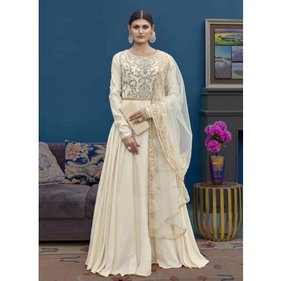 Women Salwar Kameez Off White color Designer