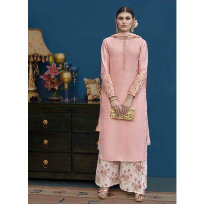 Women Salwar Kameez Orange color Designer
