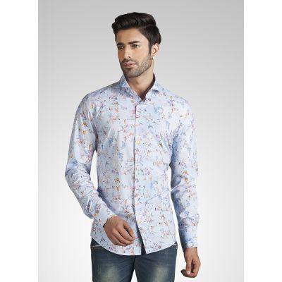 Blue color Shirts-Cotton Shirts
