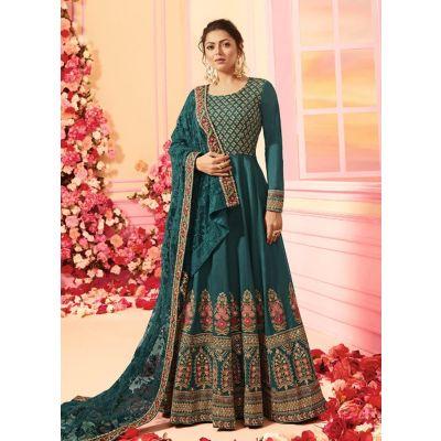Women Salwar Kameez Designer Blue color