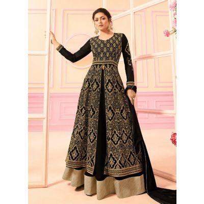 Women Salwar Kameez Designer Black color
