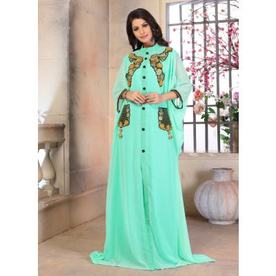 Woman Georgette Partywear Dubai Dress