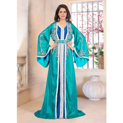 Woman Moroccan Dress