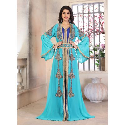 Woman Moroccan Kaftan Wedding