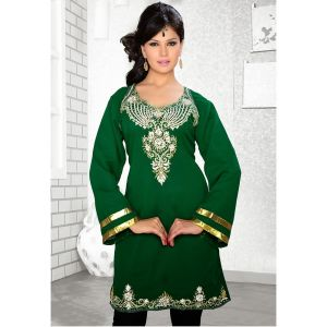 Womens Kurti Green color Fashionable