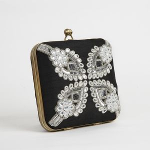 Black Colored Box purse