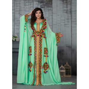 Arabic Super Quality Kaftan Dress