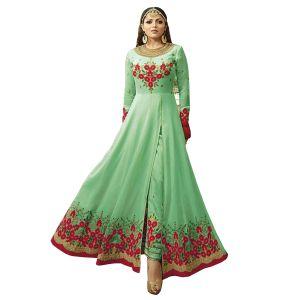 Tantalizing Light Green Salwar Kameez