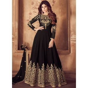 Party Wear Black Designer Salwar Suit