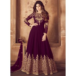 Party Wear Olive Designer Salwar Suit