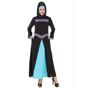 Womens Abaya Black Color Attractive
