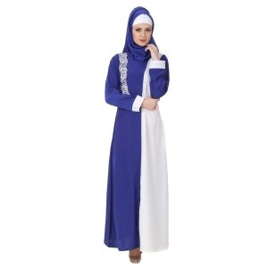 Womens Abaya White Color Attractive