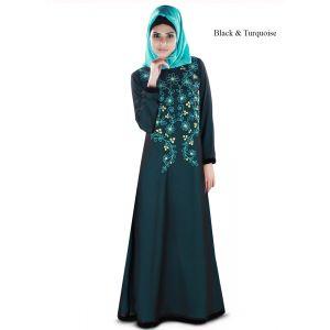 Womens Abaya Black Color Marvelous