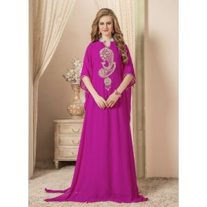 Women Pink color Free Size Caftan