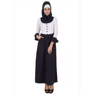 Womens Abaya White Color Graceful