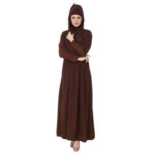Womens Abaya Brown Color Formal
