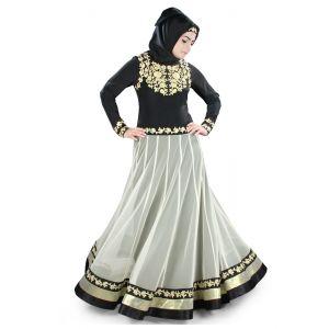 Womens Abaya Black Color Muskan