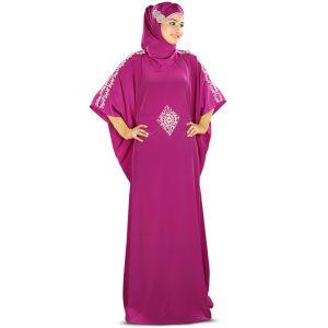 Womens Abaya  Beautiful Blue Color