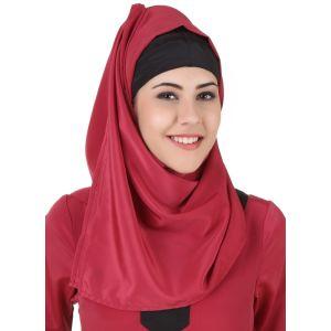 Pink color Designer-Crepe Hijab