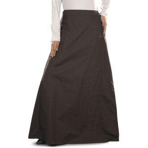 Aabirah Charcoal Cotton Skirt