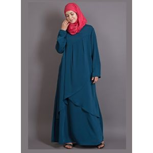 Womens Abaya Green Color Modest