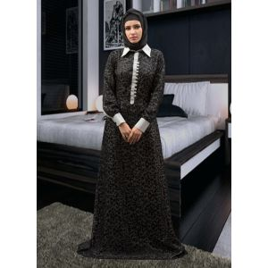 Muslim Evening Dress Abaya Black Color