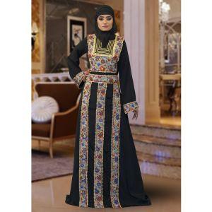 Maxi Black Color Abaya