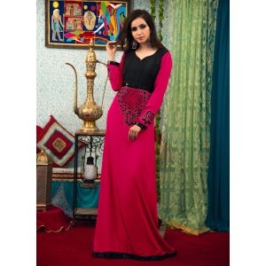 Pink Color Evening Party Dresses