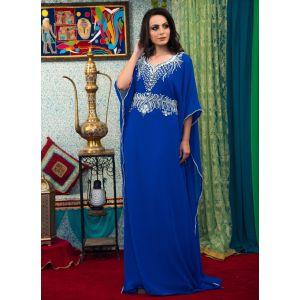 Blue Color Free Size Kaftan