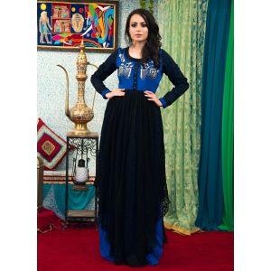Black Color Maxi Style Abaya Dress