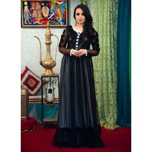 Black Color Gown Style Kaftan