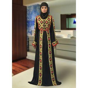 Formal Abaya Black Color