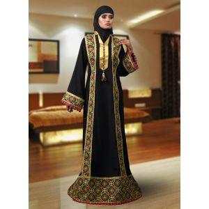 Abaya Maxi Black Color