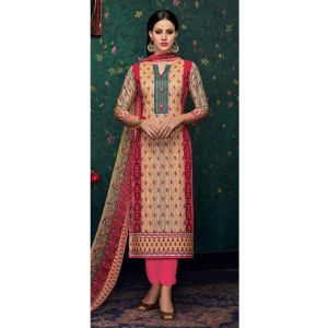 Multicoloured color Casual Salwar Kameez-Cotton Salwar Kameez-FINAL SALE
