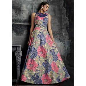 Women Gown Multicoloured color Designer