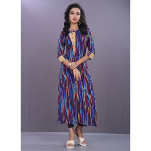 Women Ready Made Kurti Multicoloured color