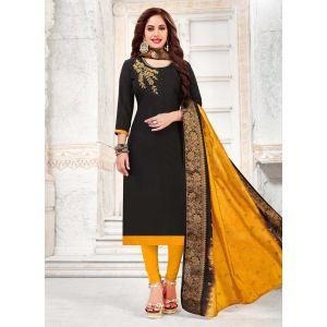 Divine Black Party Wear Salwar Kameez