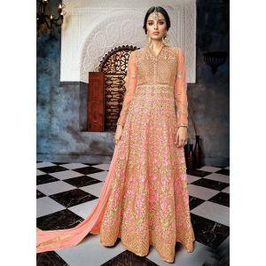 Women Salwar Kameez Anarkali Suits Pink color