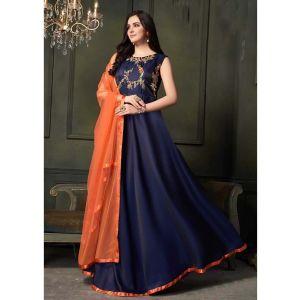 Women Gown Blue color Designer