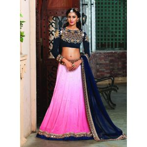 Pink color Designer Lehnga Choli-Other Lehenga Choli