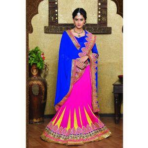 Pink color Designer Lehnga Choli-Weightless Lehenga Choli