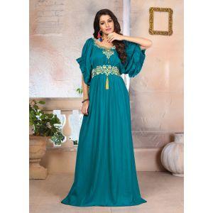 Woman Georgette Islamic Party Wear  Dress