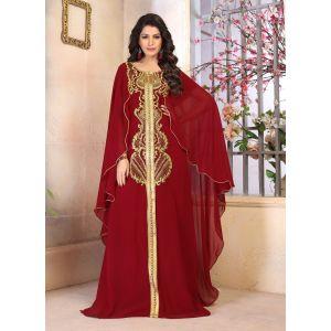 Woman Georgette Kaftan Dress