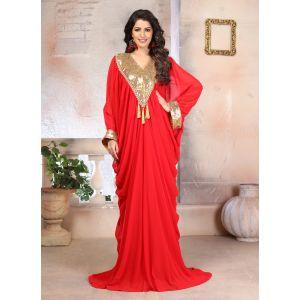 Woman Georgette Plus Size Kaftan