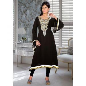 Womens Kurti Black color Fancy style